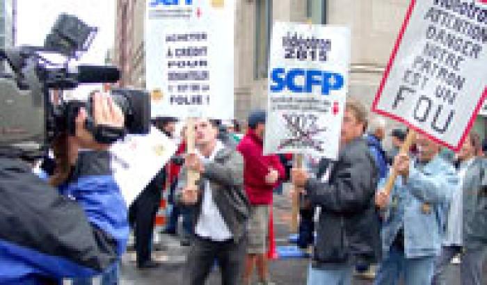 Appui financier aux syndiqués de VidéotronChaque syndicat appelé à faire sa part