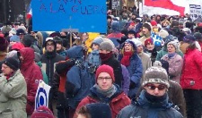 Samedi, dans cinq villes du QuébecManifestations pour la paix