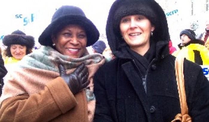 En ce 8 mars Journée internationale des femmesGrande manifestation aux abords de l'Université de Montréal