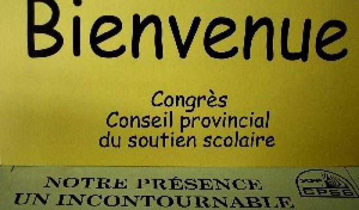 Congrès du CPSS jusqu'à vendrediNotre présence, un incontournable