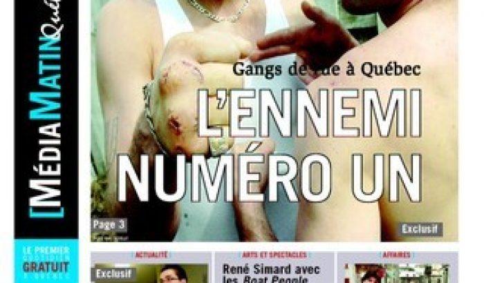 Lock-out au Journal de Québec, dixième anniversaire de la parution de Média Matin Québec !