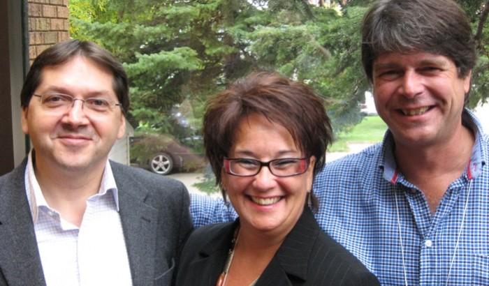 Claude Généreux, Lucie Levasseur et Pierre Soucy