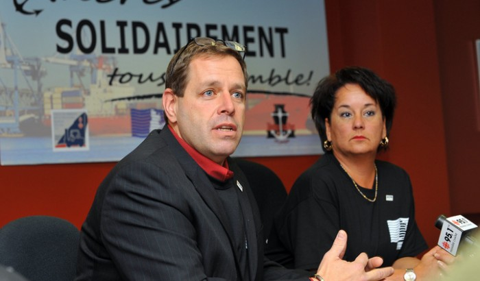 Michel Bibeault et Lucie Levasseur