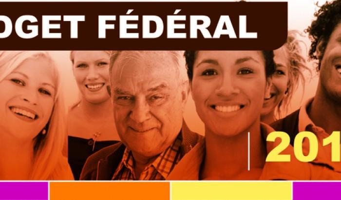 logo SCFP budget fédéral