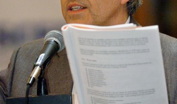 Michel Lizée, militant de longue date du SCFP et coordonnateur au Service aux collectivités de l'UQAM