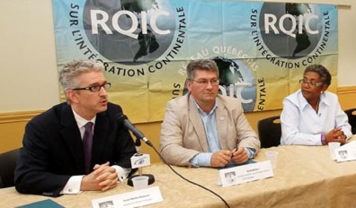 Conférence de presse conjointe sur l'AÉCG le 13 octobre