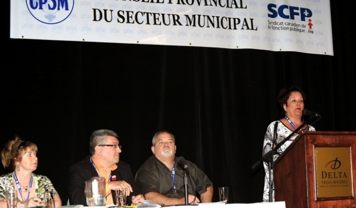 Conseil provincial du secteur municipalOuverture du XVe Congrès biennal