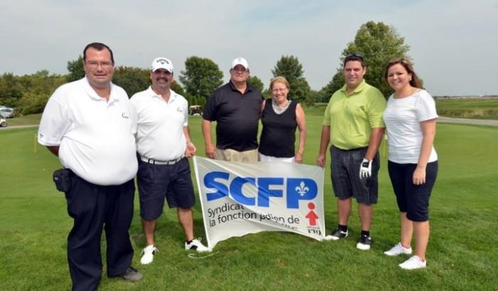 Premier tournoi de golf conjoint des cols blancs et cols bleus de Repentigny