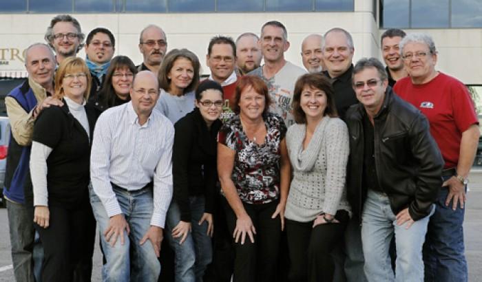 L'équipe du Syndicat des employés du CHU de Québec (SCFP 1108)