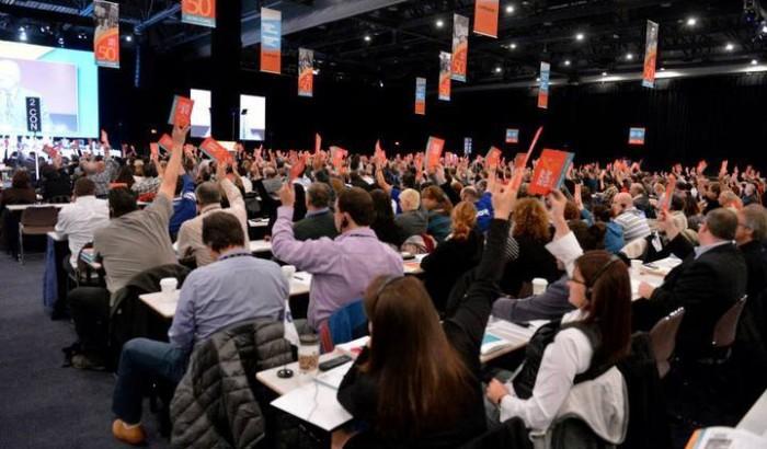 Congrès SCFP national - Meilleure protection pour les grévistesLes congressistes votent en faveur d'une augmentation de 50% des indemnités de grèves