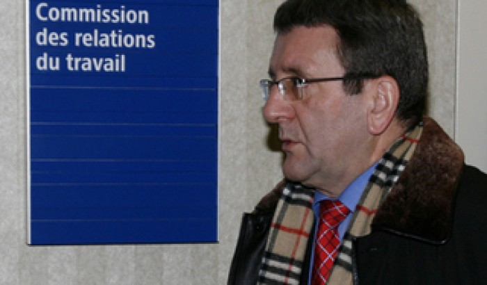Régis Labeaume à la CRT en 2008