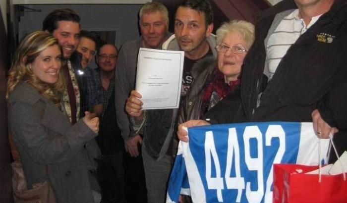 Bois-des-FilionLes cols bleus et blancs célèbrent leur nouvelle convention collective