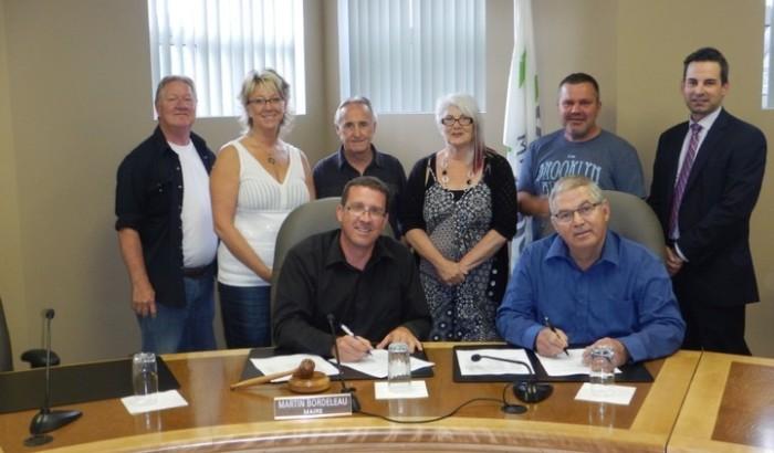 Une première convention collective négociée à la municipalité de Saint-Côme