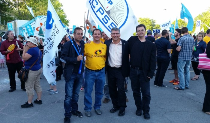 Commission scolaire de LavalQuatre syndicats unis pour l'éducation