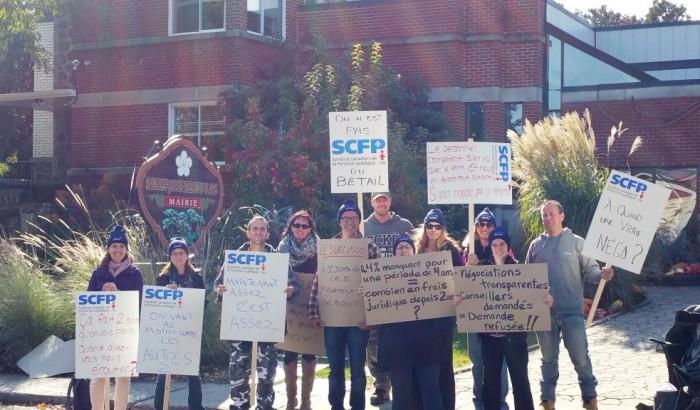 Grève chez les employés de Saint-Joseph-Du-Lac