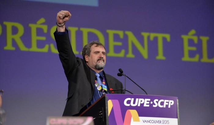 Mark Hancock est le nouveau président national du SCFP