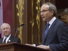 <span class='surtitre'>Remaniement ministériel à Québec</span><br/>La nomination de Coiteux peu rassurante pour les employés municipaux