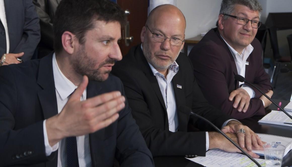 Appui de taille pour les juristes de l'État: Le SCFP dénonce les propos du ministre Moreau