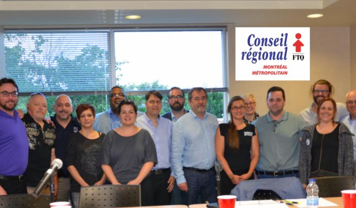 Élections au Bureau de direction du Conseil régional FTQ Montréal métropolitain