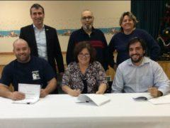 Signature d'une entente de cinq ans à la Municipalité de Saint-Liguori
