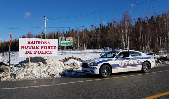 LAC SIMONLe service de police est sauvé… pour le moment !