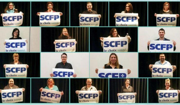 Campagne d'affiliation syndicale «Le choix santé»Victoire du SCFP dans la catégorie 3 en Montérégie-Ouest