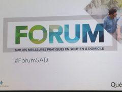 Forum sur les soins à domicile : du personnel du réseau public bien formé fait partie de la solution!