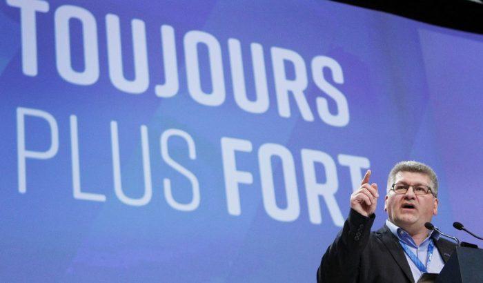 Discours de Denis Bolduc, président du SCFP-Québec, au 30e congrès«Je veux qu'on active encore davantage notre flamme militante!»