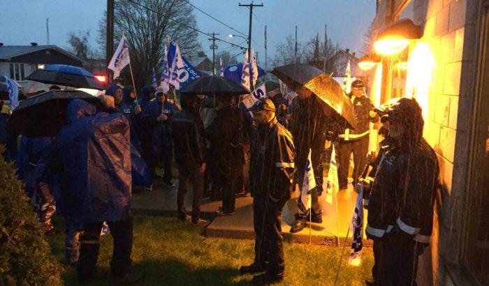 Le secteur municipal du SCFP solidaire des employés de Saint-Esprit