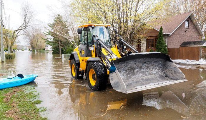 Le SCFP salue ses nombreux membres impliqués dans les travaux pour  contenir nos rivières et aider les sinistrés