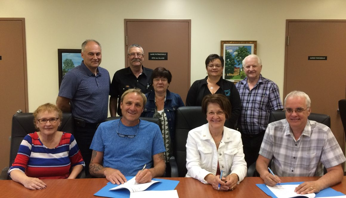 Signature d'une nouvelle convention à Sayabec