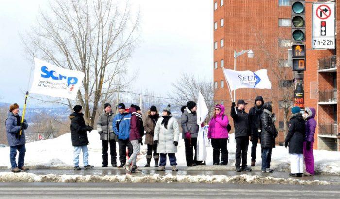 Primes aux briseurs de grève: les dirigeants du SCFP demandent une rencontre urgente  avec la ministre de l'Enseignement supérieur