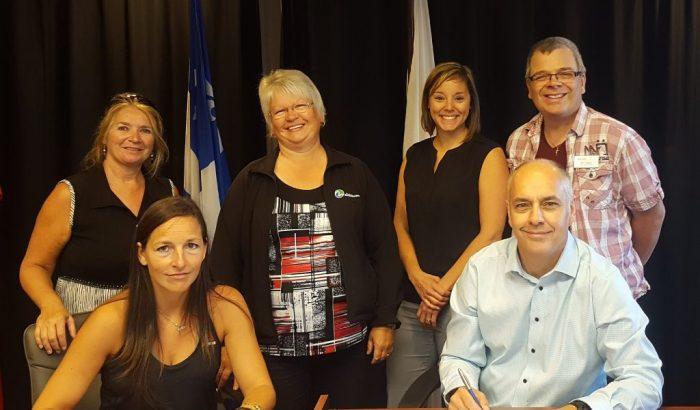Nouvelle convention collective au Service des loisirs de Rouyn-Noranda