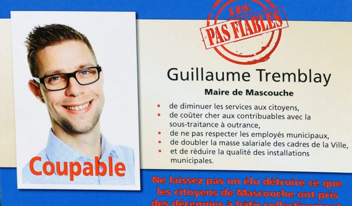 Le SCFP dénonce un autre maire « pas fiable » à la ville de Mascouche