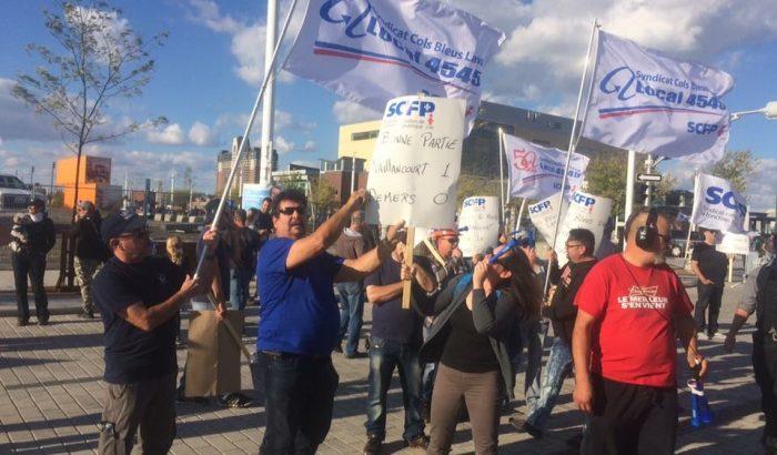 Grève des cols bleus de Laval