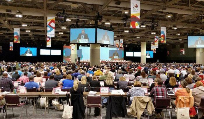 28e congrès pancanadien du SCFP à TorontoLe plus grand syndicat au Canada se réunit pour la justice et l'équité
