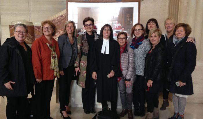 Audience en Cour suprêmeJour J en matière d'équité salariale pour des milliers de Québécoises