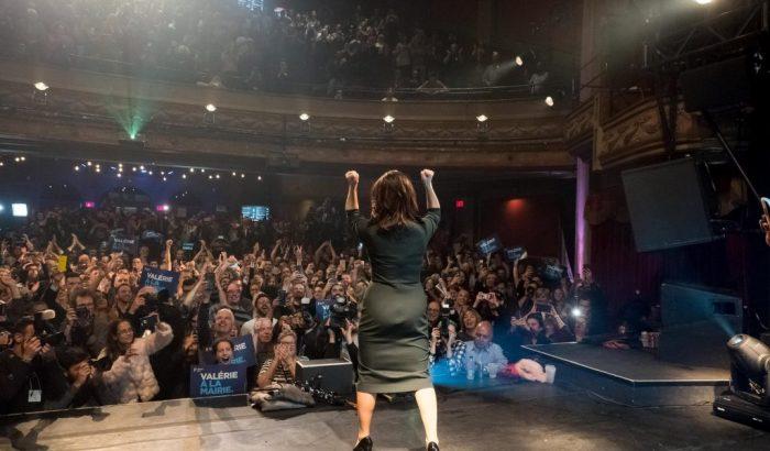 Le SCFP félicite Valérie Plante la nouvelle et première mairesse de Montréal !