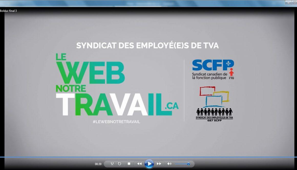 Le SCFP dénonce des congédiements déguisés à TVA Interactif