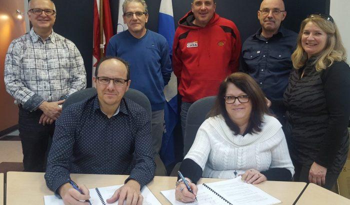 Abitibi-Témiscamingue –Une nouvelle convention collective pour les salariés de Ville-Marie