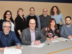 Signature de deux conventions collectives à l'Office national du film