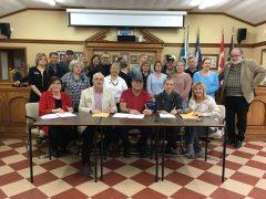 Saint-Anicet – Les travailleurs municipaux se sont impliqués politiquement pour régler leurs négociations