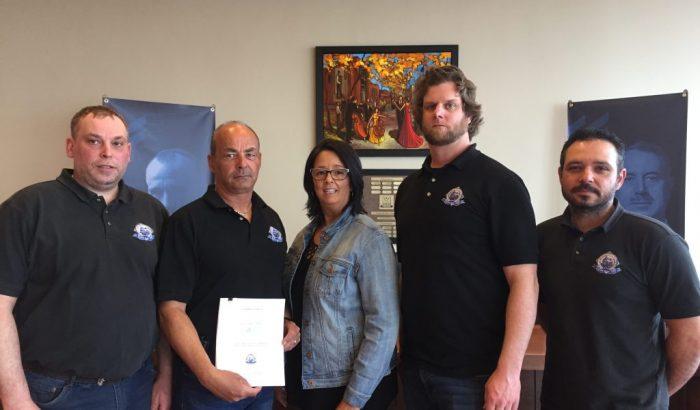 Les cols bleus de Baie-Comeau signent un nouveau contrat de travail