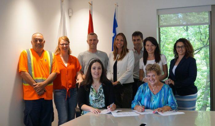 Le personnel de la Ville de Sainte-Catherine a un nouveau contrat de travail