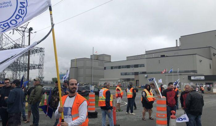 En appui aux lockoutés de ViterraManifestations importantes au Port de Bécancour et au Port de Québec