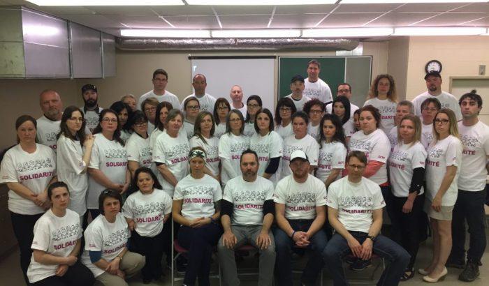 Les cols blancs de la Ville de Sept-Îles votent à 100% pour la grève