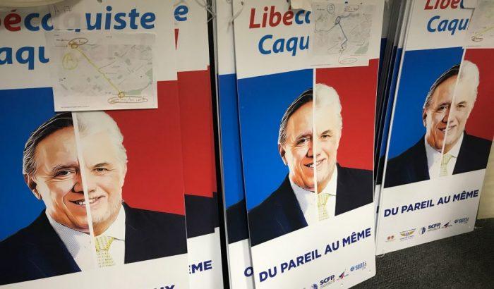 Campagne pré-électorale: On mérite mieux!La campagne pré-électorale cible trois nouveaux comtés aujourd'hui