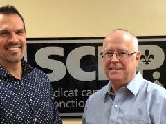 Le SCFP salue le départ du président du Syndicat de Cogeco, Alain Caron