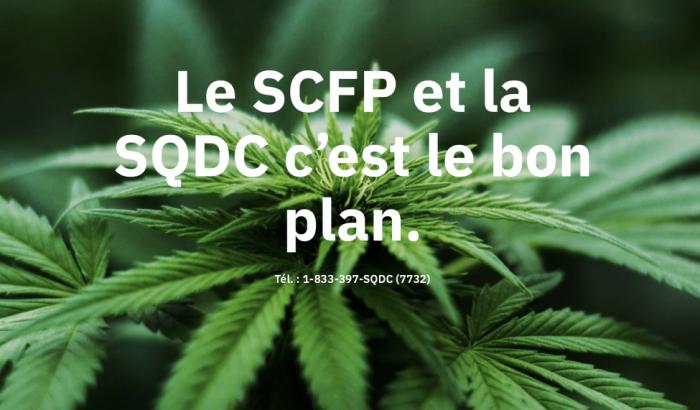 Le SCFP défendra les droits des travailleuses et travailleurs de la SQDC