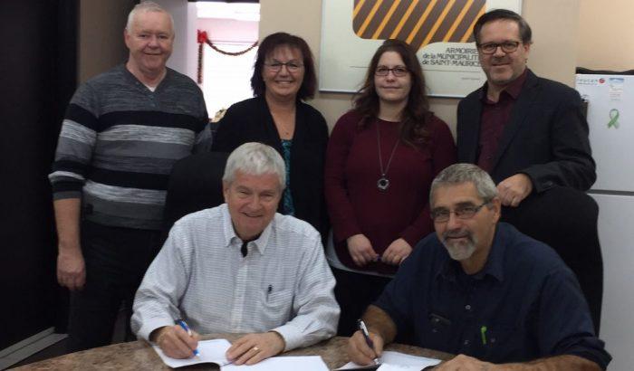 Nouvelle convention collective signée à la Municipalité de Saint-Maurice